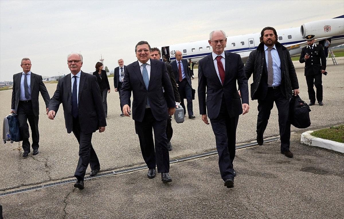 Петр Порошенко и лидеры ЕС попытаются склонить Владимира Путина к деэскалации конфликта в Украине