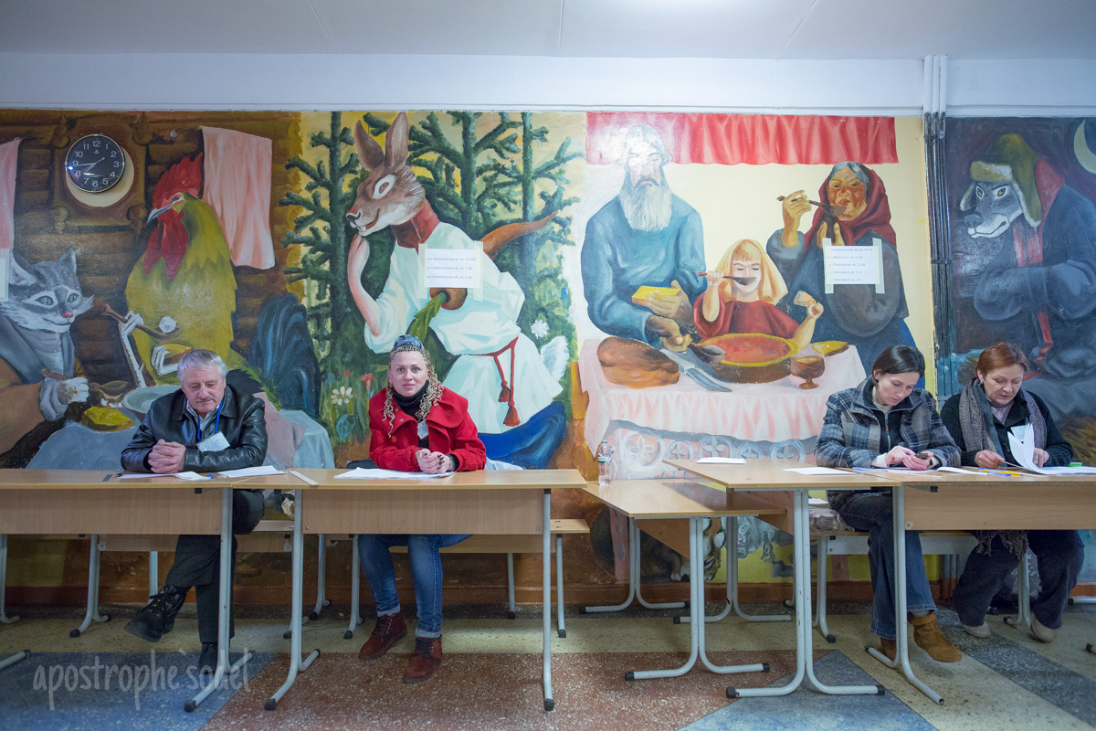Как голосовали на выборах в Киеве