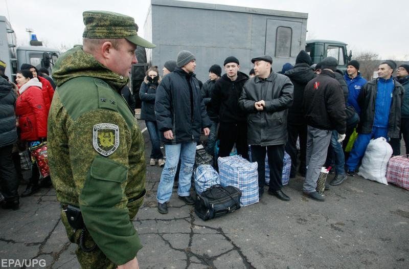 Юрий Гримчак об обмене пленными, состоявшемся 27 декабря
