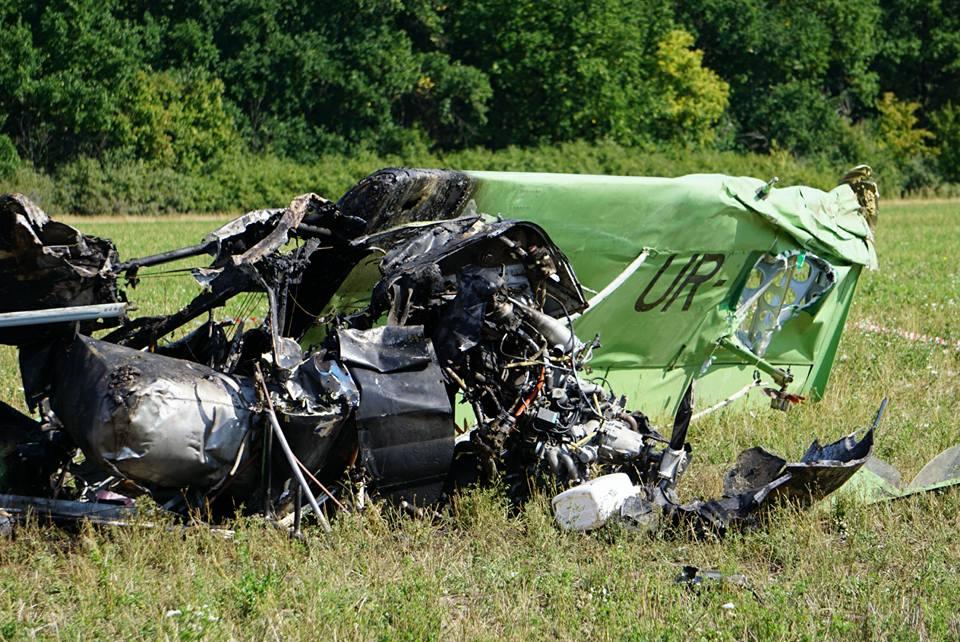 Украина: разбившейся летчик не получил разрешения на полет