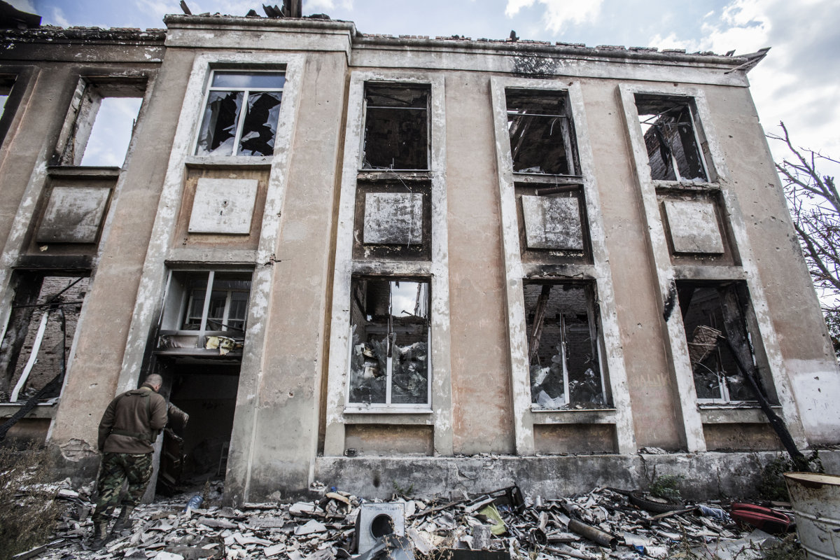 Во что бои превратили Донбасс