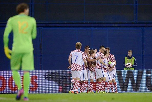 Сборная Украины в Загребе провела матч квалификации на ЧМ-2018