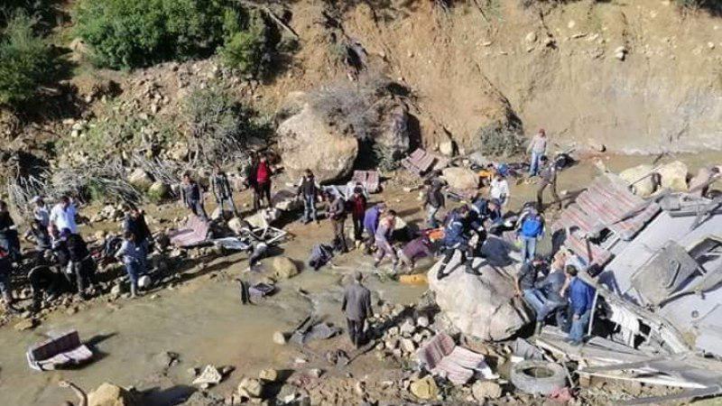 Более 20 человек погибли в ДТП с туристическим автобусом в Тунисе