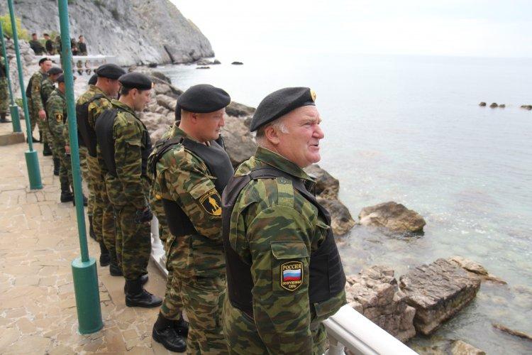 На границе с оккупированным Крымом нет больших скоплений военной техники РФ, - представитель Госпогранслужбы Слободян - Цензор.НЕТ 5584