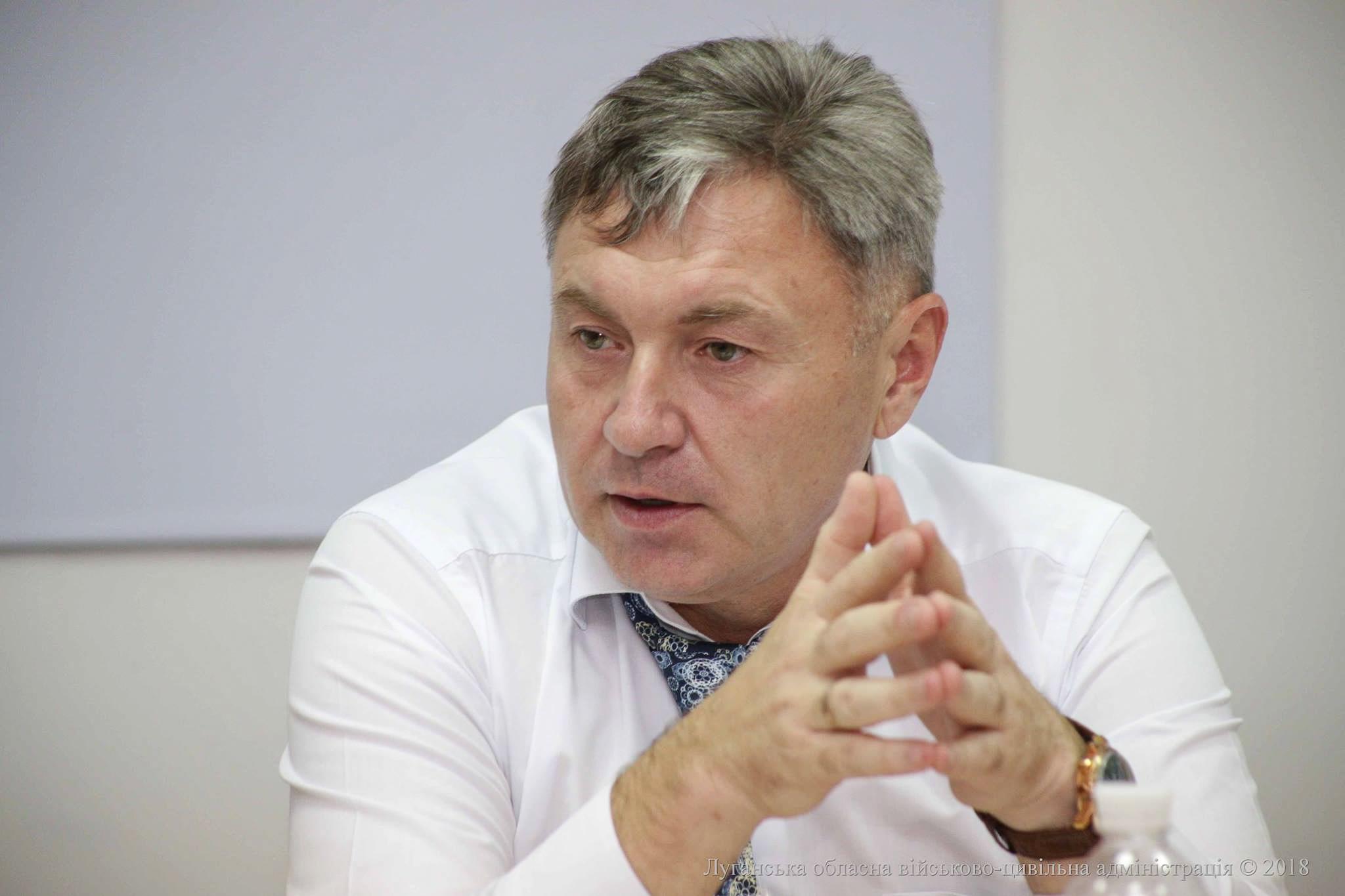 Голова Луганської обладміністрації про майбутні вибори та реінтеграцію Донбасу
