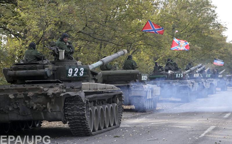 Такой вывод позволяет сделать концентрация танков боевиков в районе Авдеевки