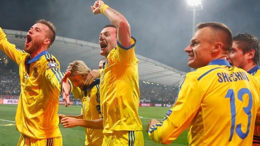 Украина сняла проклятие стыковых игр, победив по сумме двух матчей сборную Словении