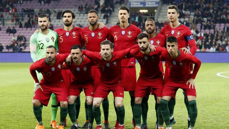 Португальцы и итальянцы встречались в матче Лиги наций