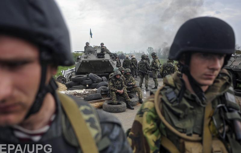Сегодня Вооруженным силам Украины исполняется 25 лет