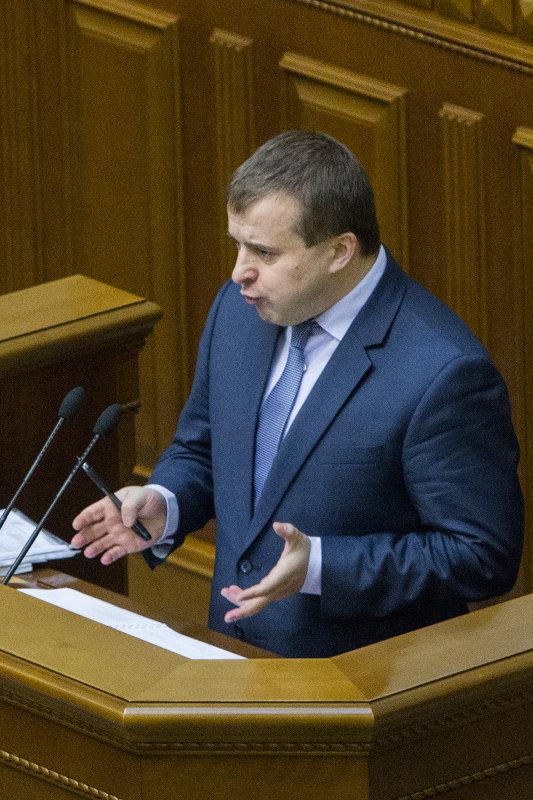 Проект постановления о его увольнении зарегистрировали 25 народных депутатов