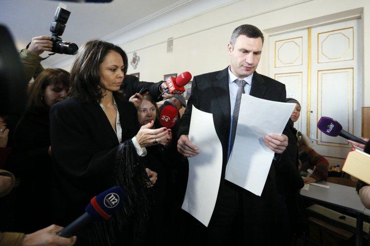 Столичный мэр Виталий Кличко недолго делал свой выбор