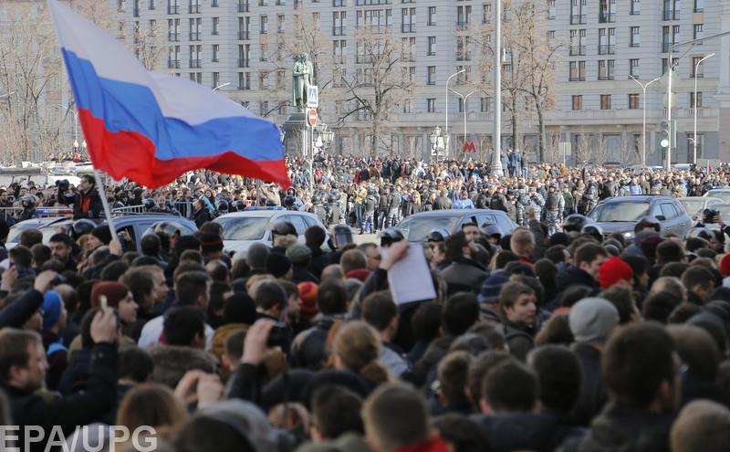 Кремль теряет контроль над управляемостью молодежными протестами