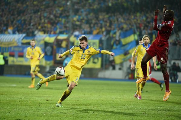 Благодаря хет-трику Андрея Ярмоленко наша команда разгромила Люксембург – 3:0