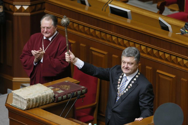 Процедура инаугурации президентов Украины имеет богатую историю