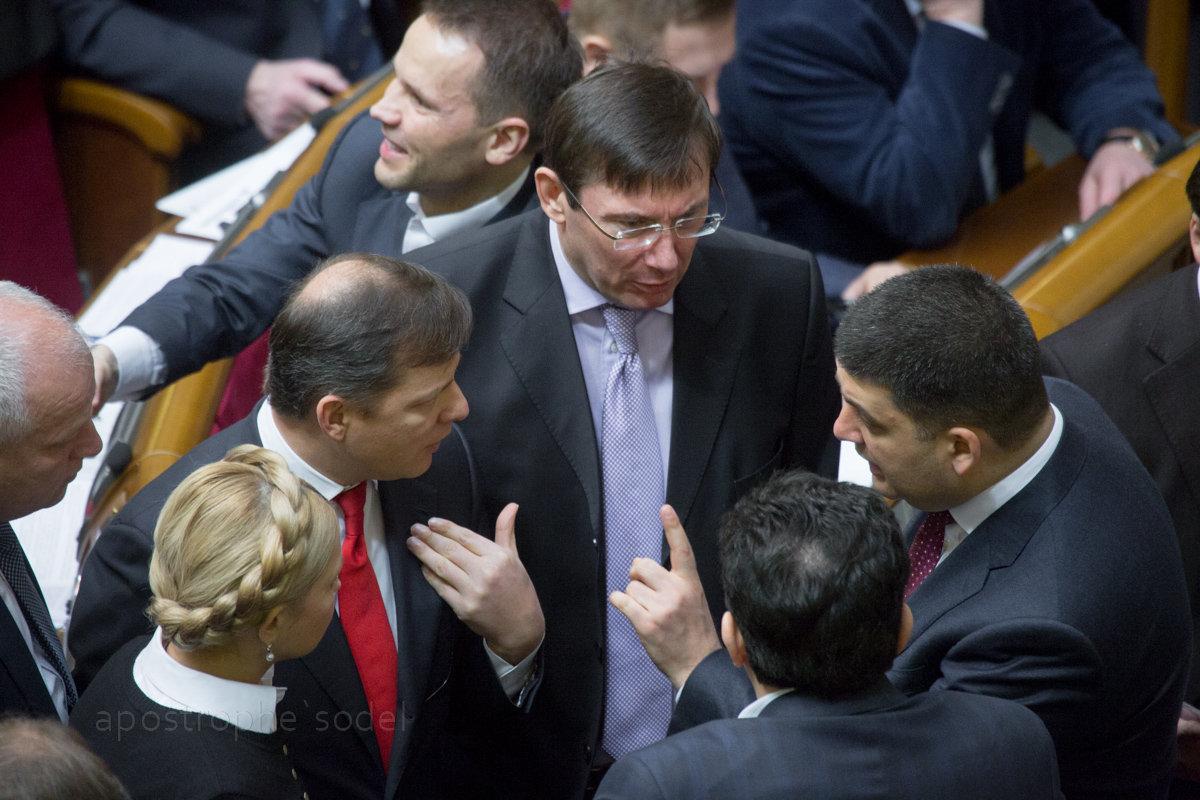 Нынешнюю коалицию удерживают проблемы в экономике Украины