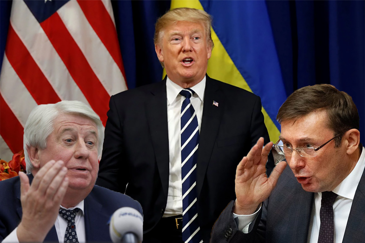 Какие цели преследуют Шокин и Луценко в скандале с Трампом