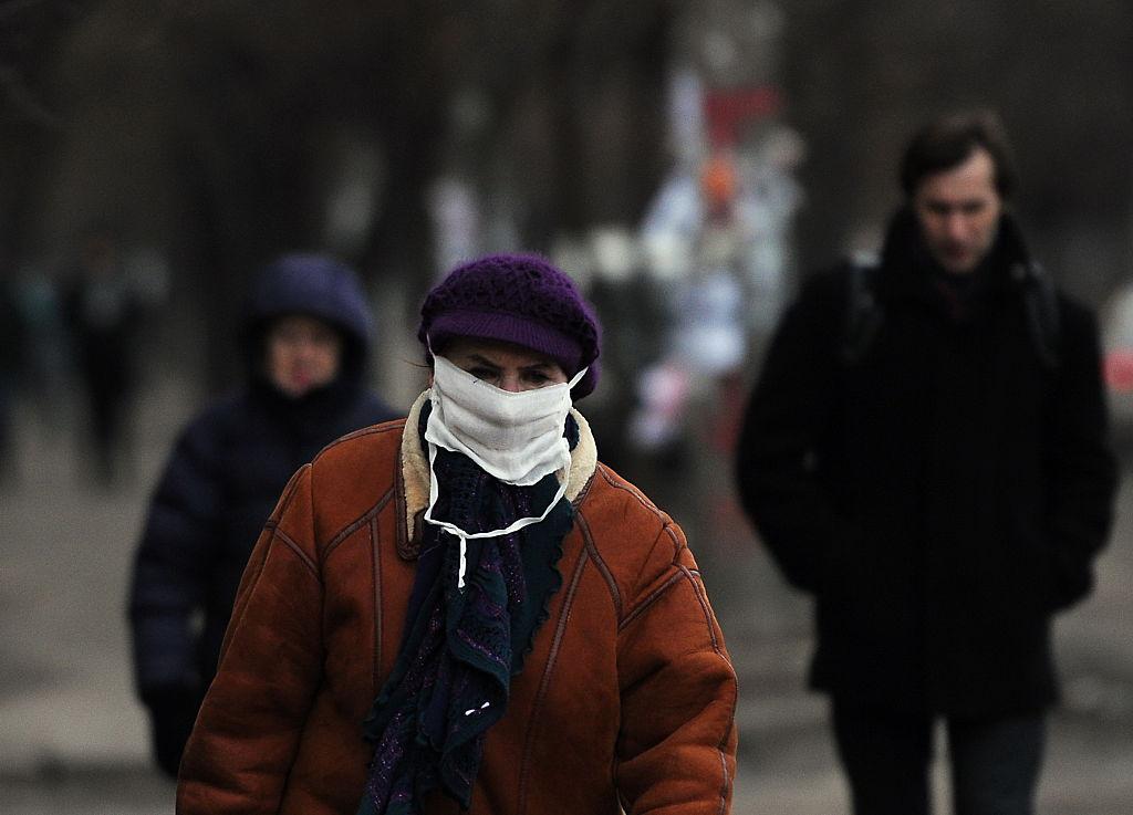 В Украину идет три штамма вируса одновременно