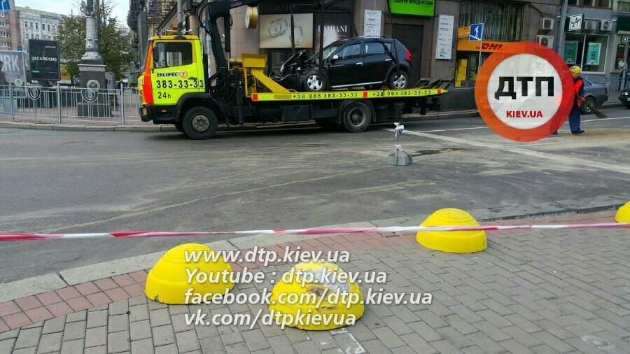 Вцентре украинской столицы работник посольства Азербайджана устроил пьяную трагедию