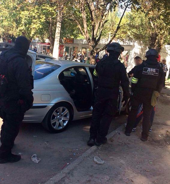 ВОдессе напали сножом иранили солдата Нацгвардии