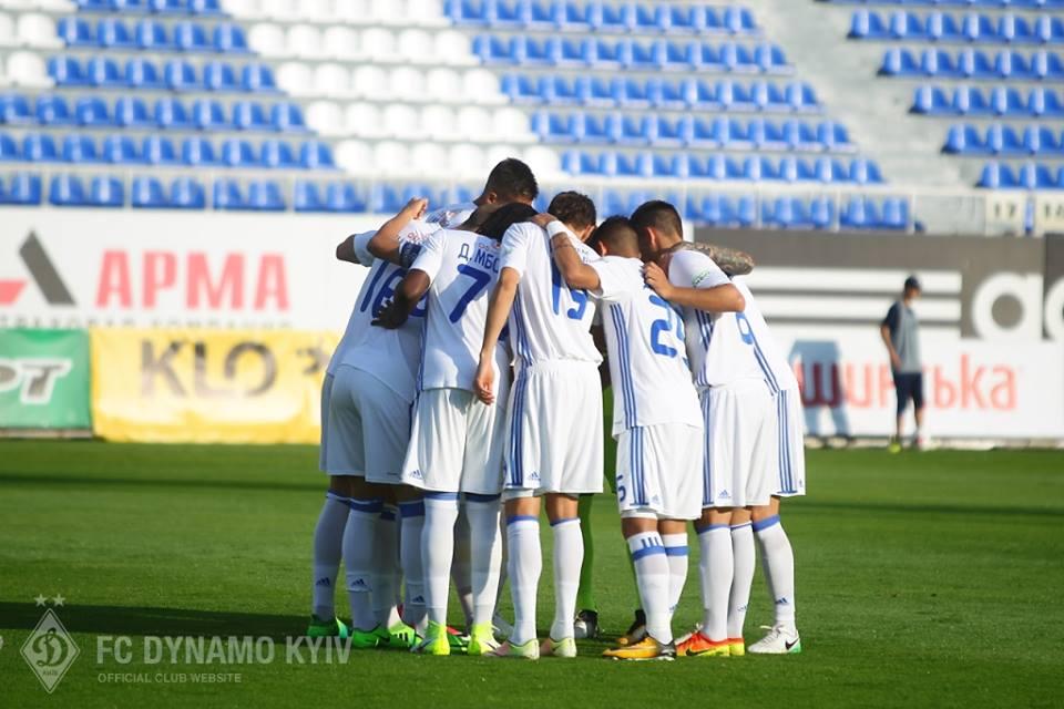 Киевляне стартовали в квалификации главного клубного турнира Европы