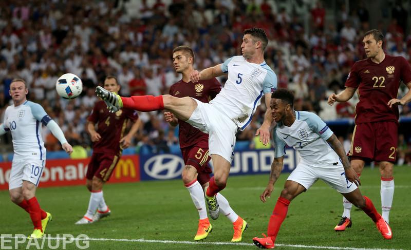 Сборная России в конце матча чемпионата Европы сумела вырвать ничью у Англии