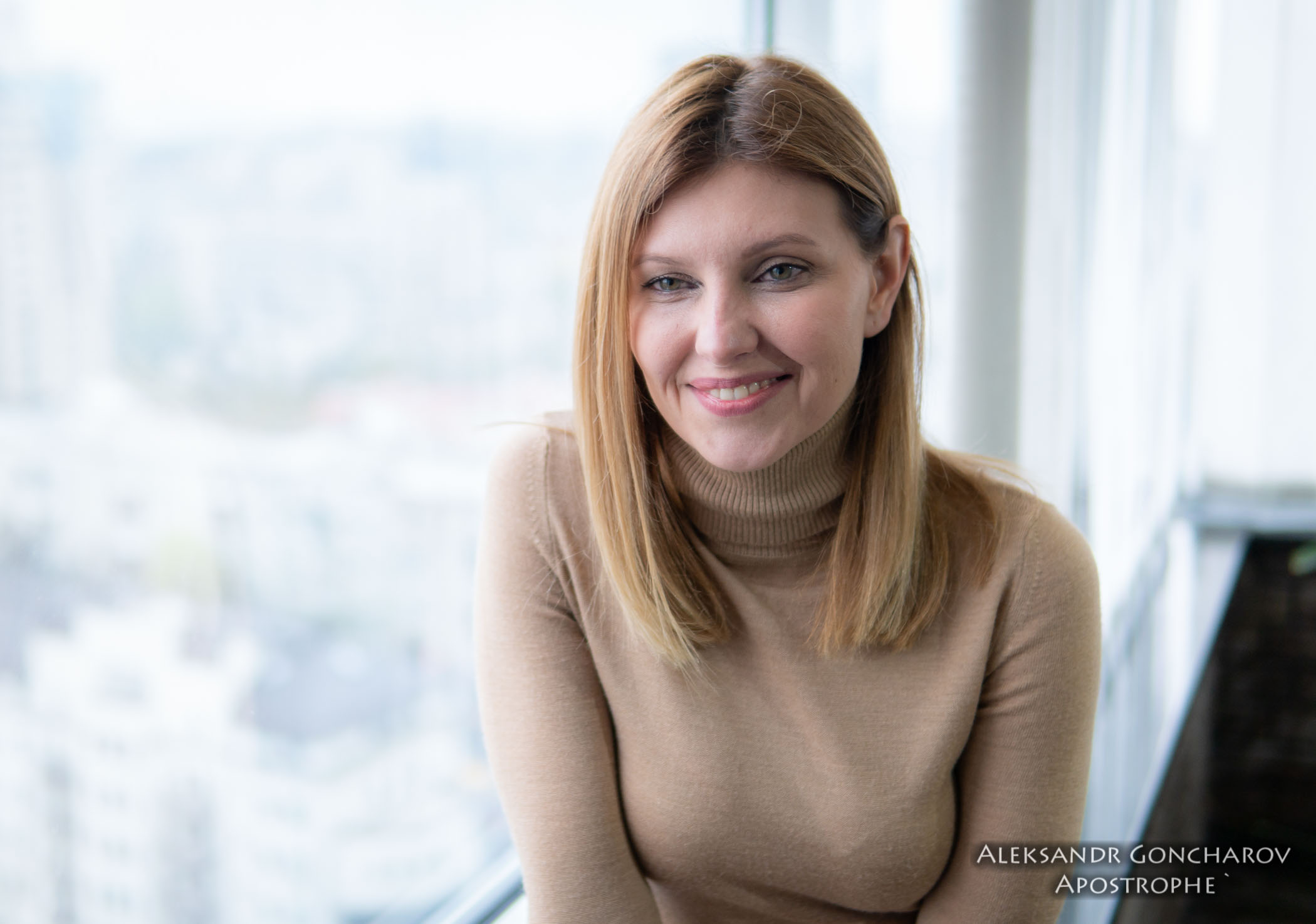 Елена Зеленская рассказала о подготовке своего мужа к предвыборным дебатам