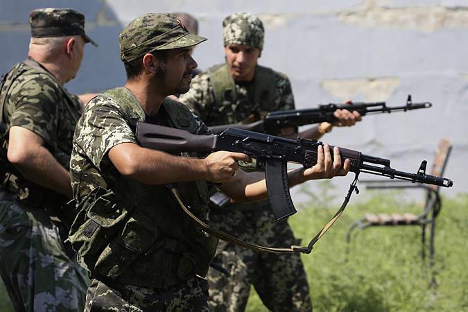 Война на Донбассе привлекла большое количество иностранных наемников