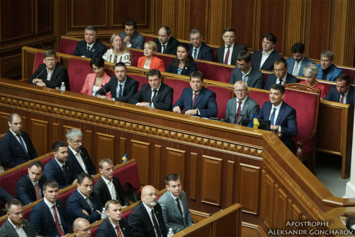 Перший робочий день нового парламенту вийшов дуже довгим