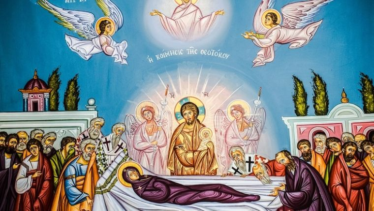 28 августа. Успение Пресвятой Богородицы 58a41e234a929bf7df764032a70bdb27