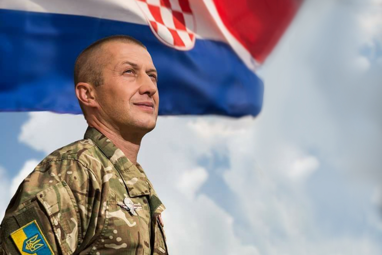 Денис Шелер воюет за Украину на Донбассе уже четыре года