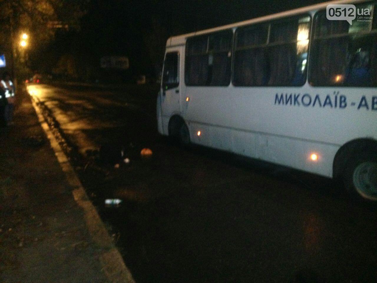ВНиколаеве автобус насмерть сбил пешеходов
