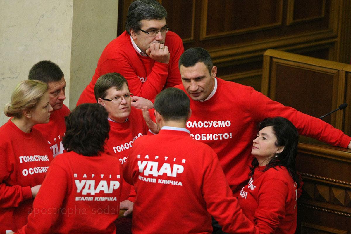 Виталий Кличко рассчитывает на поддержку старых однопартийцев из УДАРа