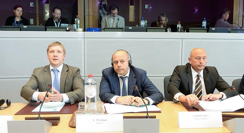 Газовые переговоры в Брюсселе оказались безрезультатными