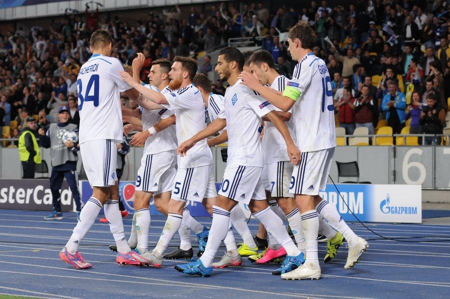 Встреча чемпионов Украины и Англии состоялась 20 октября в Киеве
