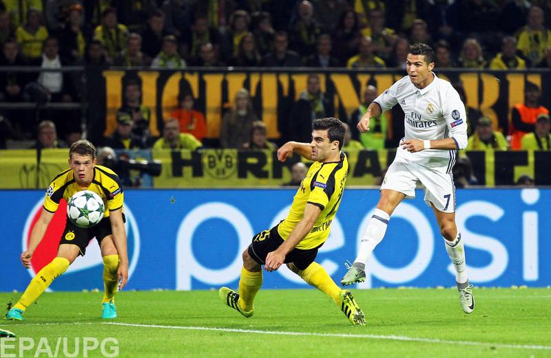 Во втором туре группового раунда Лиги чемпионов дортмундцы и мадридцы сыграли вничью 2:2