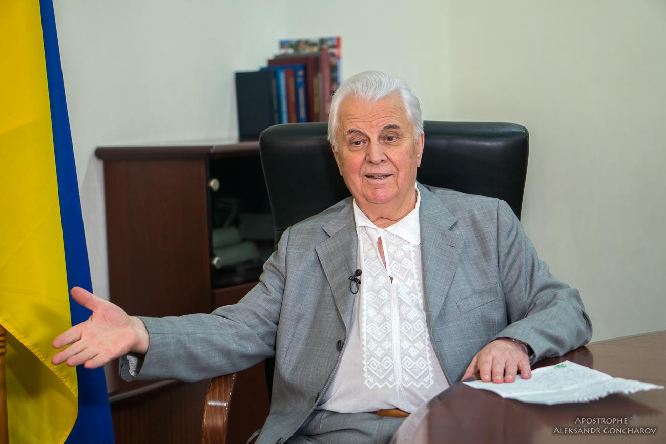 У Зеленского есть два пути для возвращения мира на Донбасс - Леонид Кравчук