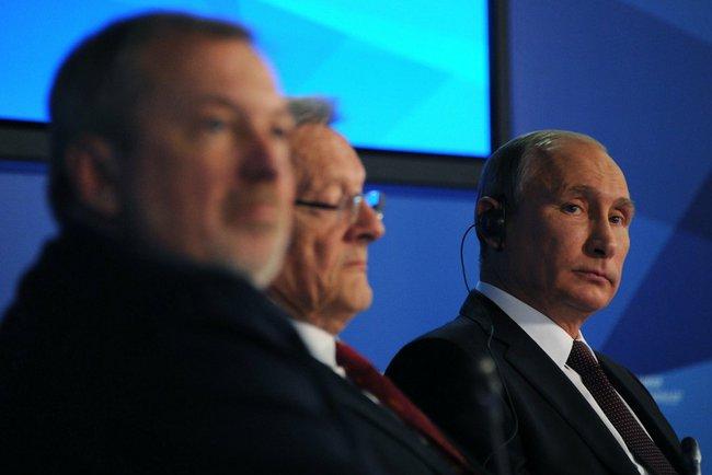 Владимир Путин изложил свою позицию относительно мирового устройства