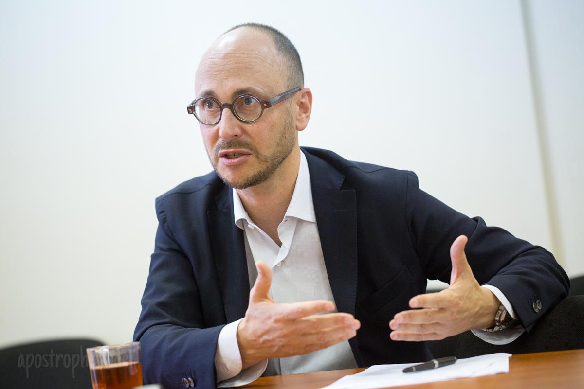 """Кандидат в мэры столицы от """"Самопомочи"""" рассказал, как улучшить жизнь в столице"""