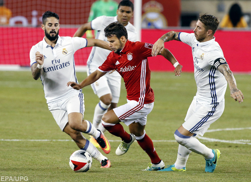 Гранды европейского футбола сыграли в четвертьфинале Лиги чемпионов