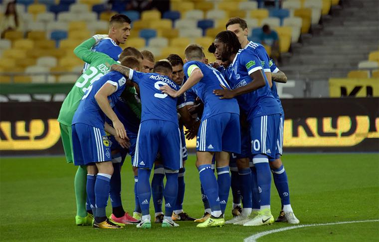 Киевляне стартовали в групповом этапе Лиге Европы поединком против албанского клуба.