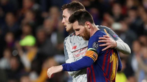 Ливерпуль уничтожил Барселону и стал первым финалистом Лиги чемпионов