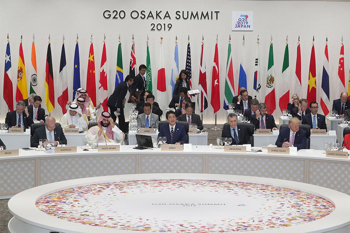 Антон Найчук про саміт G20 в Осаці