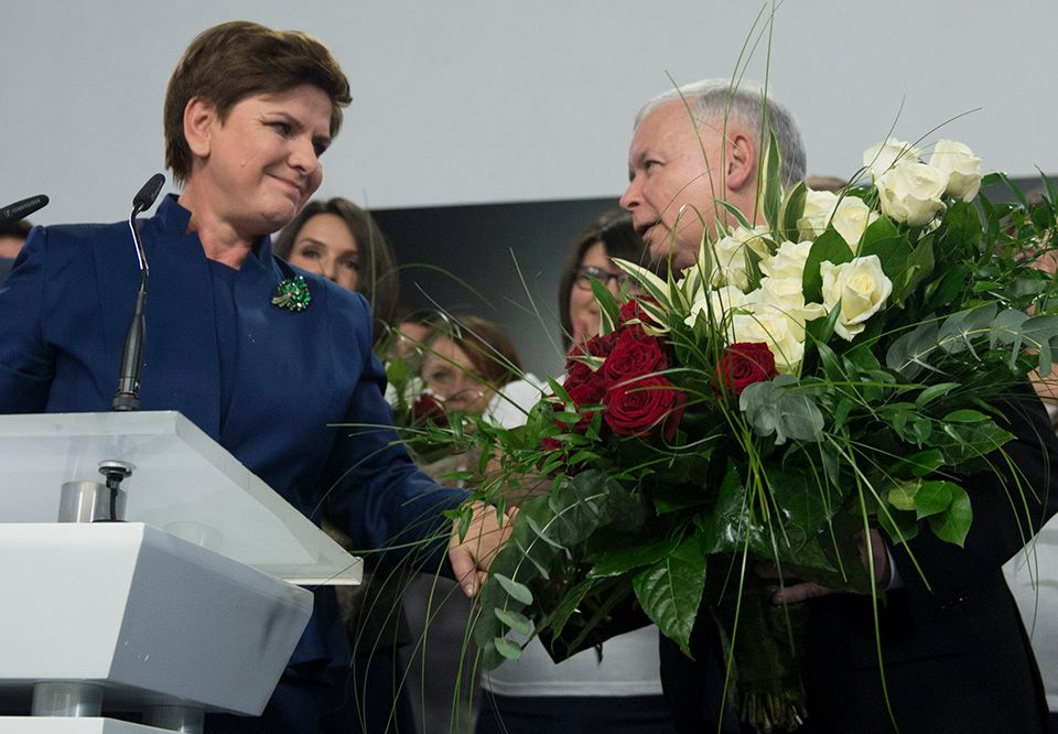 В Польше победила правая политическая сила