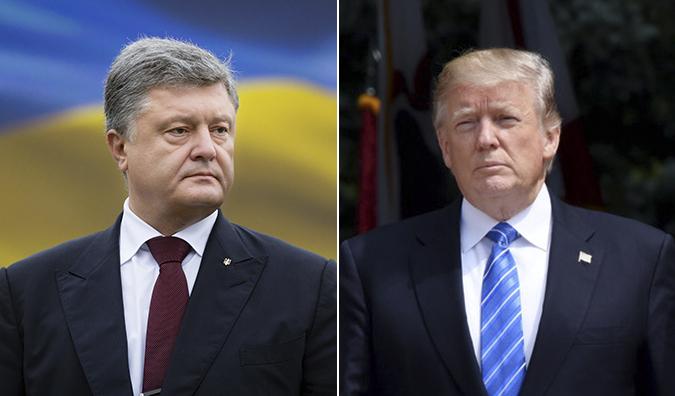 О чем могут поговорить Порошенко и Трамп