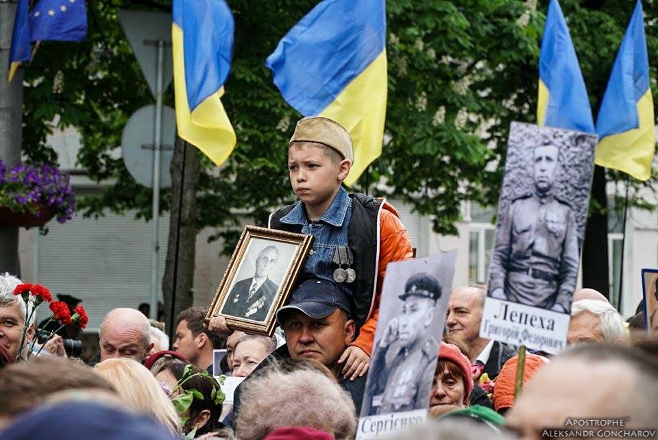 """В столице националисты пытались сорвать акцию """"Никто не забыт, ничто не забыто"""""""