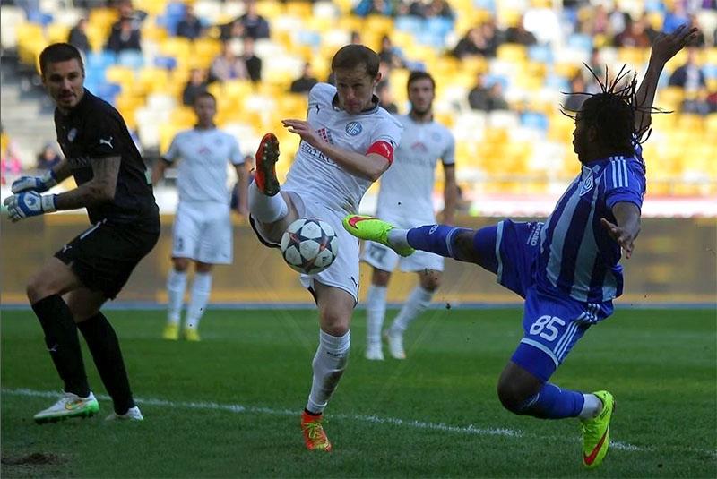 Киевляне на последней минуте матча дожали «Олимпик», а дончане ‒ упустили победу над «Металлистом»