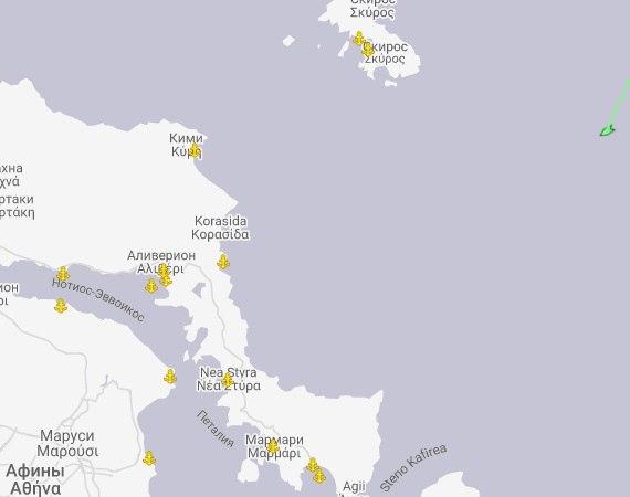ВЭгейском море терпит бедствие украинский сухогруз