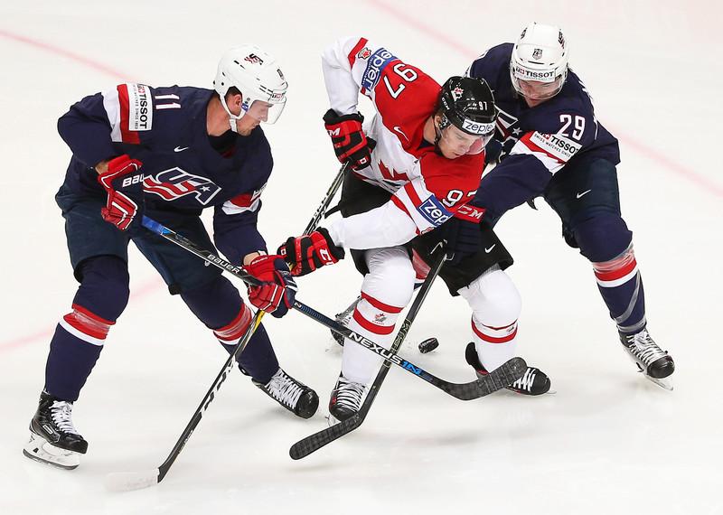 В Дании состоялся матч первого тура группового этапа ЧМ по хоккею