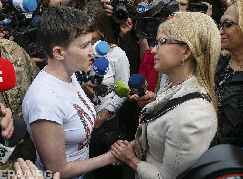 Тайные переговоры бывшей узницы с Захарченко и Плотницким вызвали крупный скандал