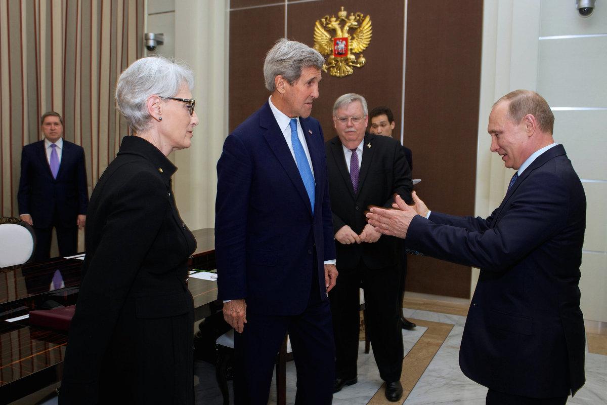 О чем Керри мог договориться с главой Кремля на встрече в Сочи